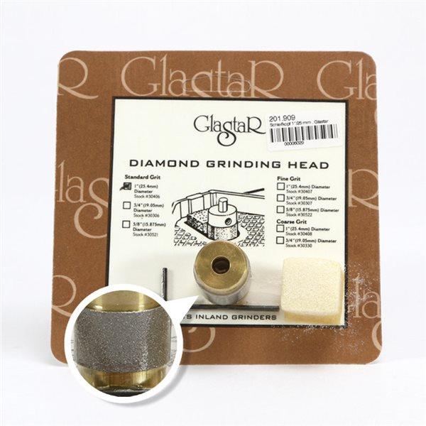 Tête de Meule Glastar - 25mm Standard