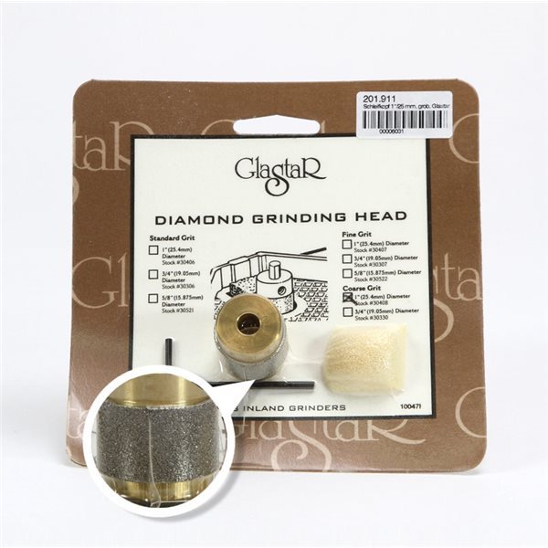 Glastar Grinding Bit - 25mm - Coarse