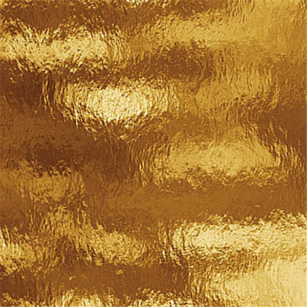 Spectrum Golden Amber - Rough Rolled - 3mm - Non-Fusible Glass Sheets