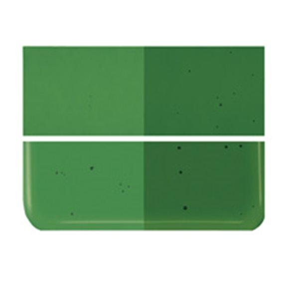 Bullseye Kelly Green - Transparent - 3mm - Fusing Glas Tafeln