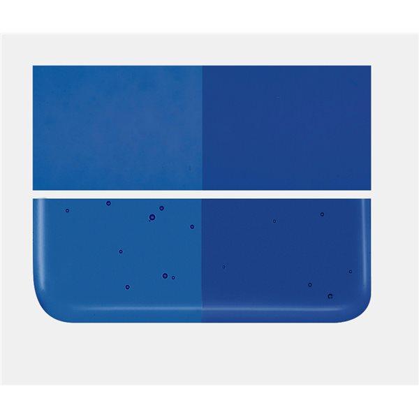Bullseye Caribbean Blue - Transparent - 3mm - Fusing Glas Tafeln