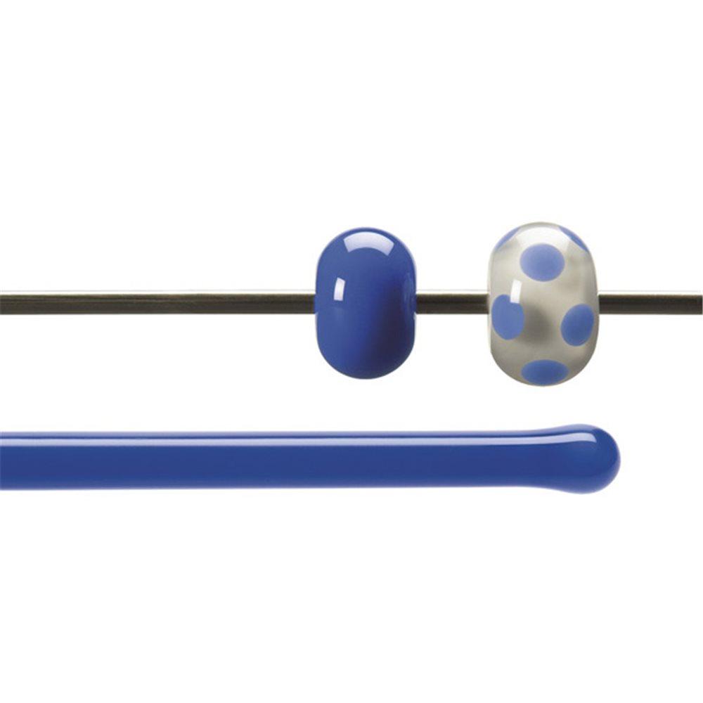 Bullseye Rods - Cobalt Blue - 4-6mm - Opalescent