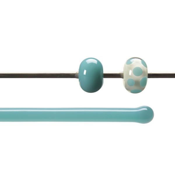 Bullseye Rods - Turquoise Blue - 4-6mm - Opalescent