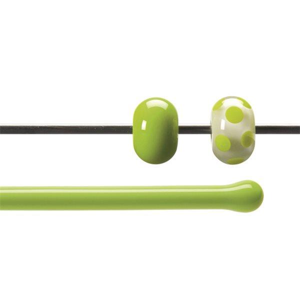 Bullseye Rods - Spring Green - 4-6mm - Opalescent