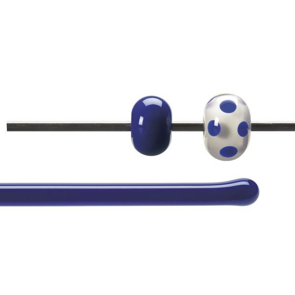 Bullseye Rods - Deep Cobalt Blue - 4-6mm - Opalescent