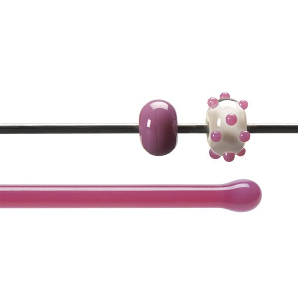 Bullseye Rods - Pink - 4-6mm - Opalescent