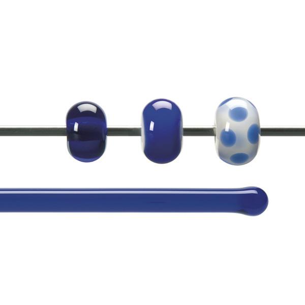 Bullseye Rods - Deep Royal Blue - 4-6mm - Transparent
