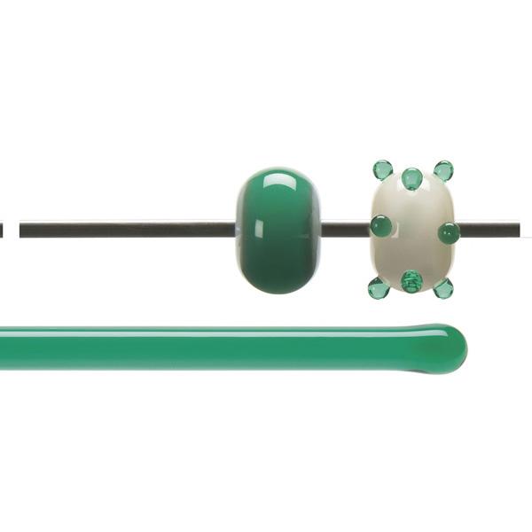 Bullseye Rods - Emerald Green - 4-6mm - Transparent