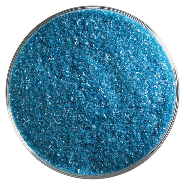 Bullseye Frit - Steel Blue - Fine - 450g - Opalescent