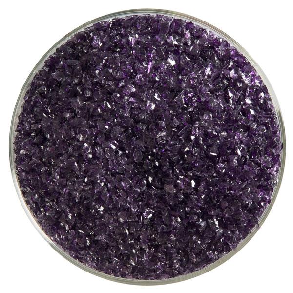 Bullseye Frit - Deep Royal Purple - Medium - 450g - Transparent