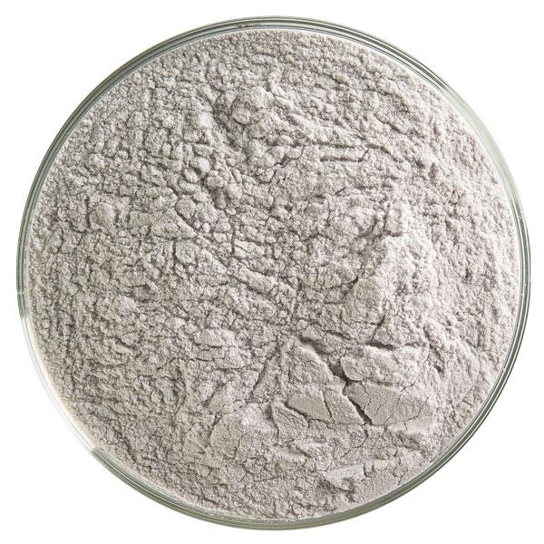 Bullseye Frit - Charcoal Gray - Powder - 450g - Transparent