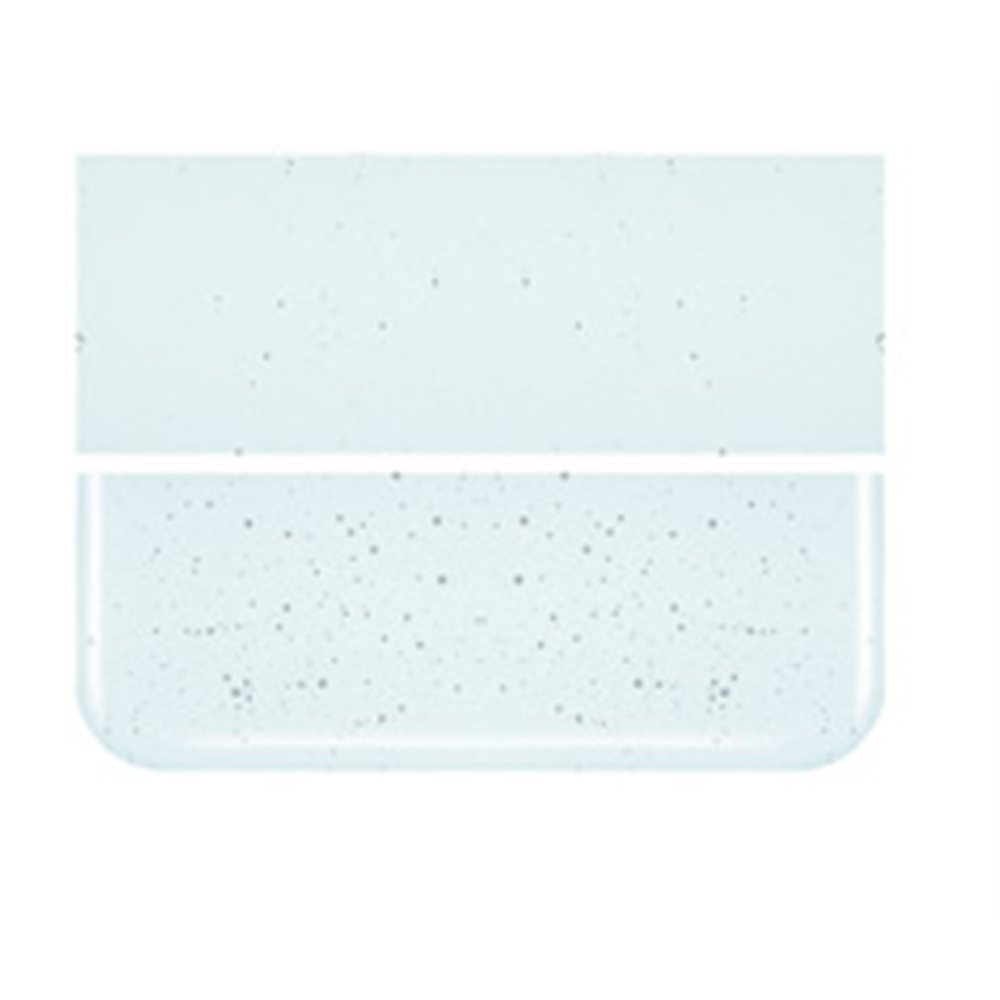 Bullseye Aqua Blue Tint - Transparent - 3mm - Fusing Glas Tafeln