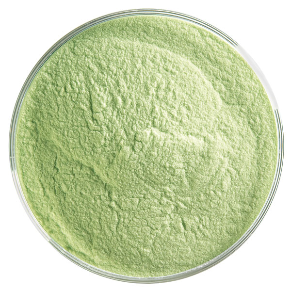 Bullseye Frit - Spring Green - Powder - 450g - Opalescent