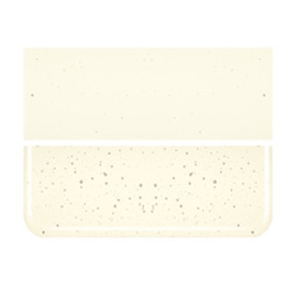 Bullseye Pale Yellow Tint - Transparent - 3mm - Fusible Glass Sheets