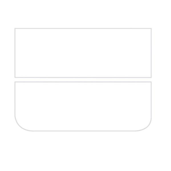 Bullseye Dense White - Opalescent - 3mm - Fusible Glass Sheets