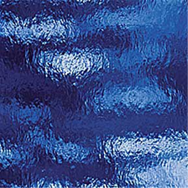 Spectrum Medium Blue - Rough Rolled - 3mm - Non-Fusible Glass Sheets