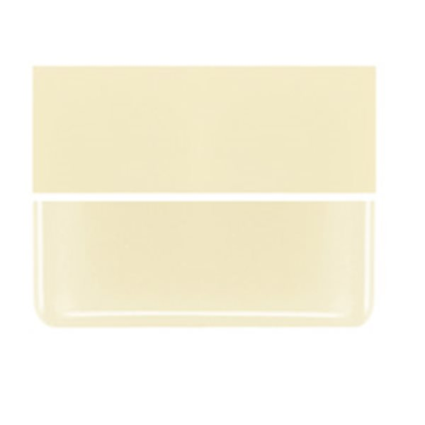 Bullseye French Vanilla - Opalescent - 2mm - Thin Rolled - Fusible Glass Sheets