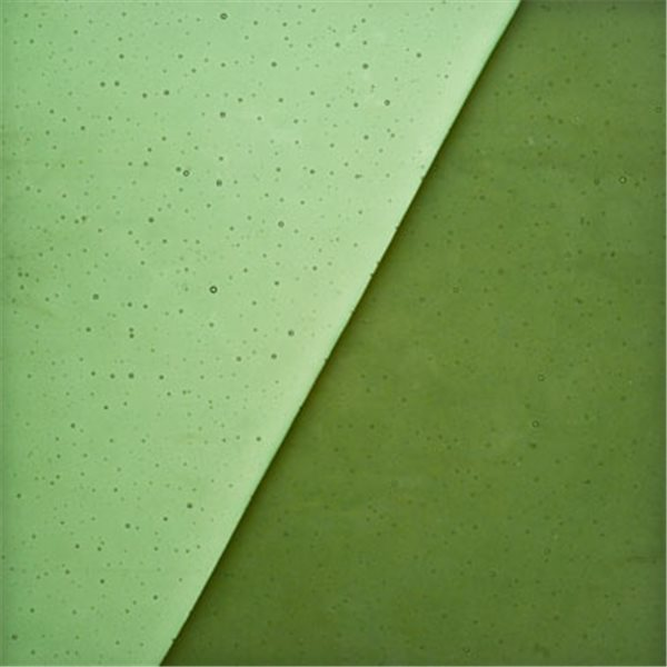 Uroboros Kelly Green - Transparent - 3mm - Fusible Glass Sheets