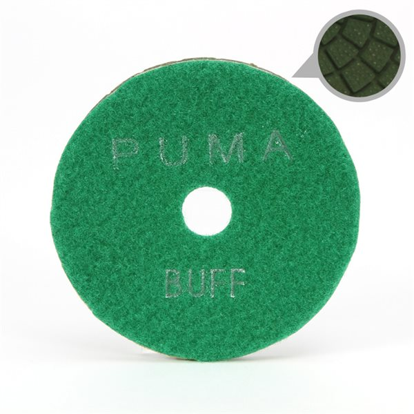 Smoothing Pad Diamond Resin - 100mm - 10000 grit - Light Green