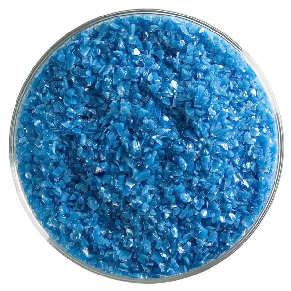 Bullseye Frit - Egyptian Blue - Medium - 450g - Opalescent