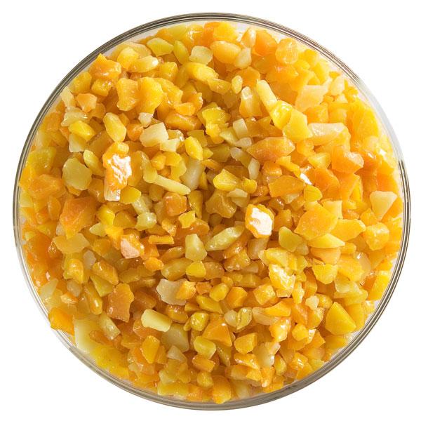 Bullseye Frit - Pumpkin Orange - Coarse - 450g - Opalescent