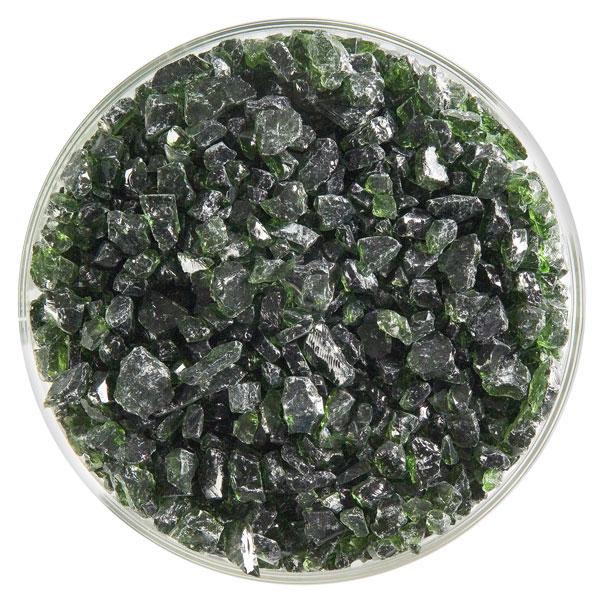 Bullseye Frit - Olive Green - Coarse - 450g - Transparent