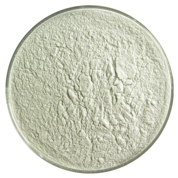 Bullseye Frit - Olive Green - Powder - 450g - Transparent