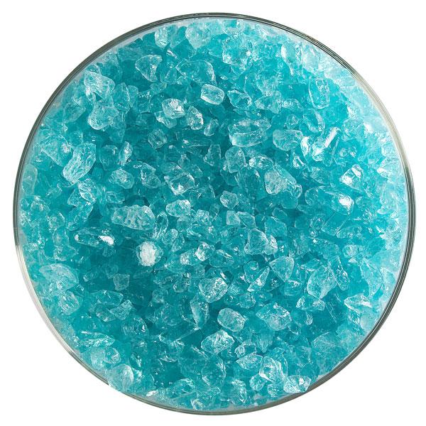 Bullseye Frit - Aqua Blue Tint - Coarse - 450g - Transparent