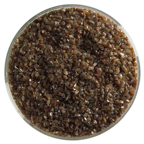 Bullseye Frit - Woodland Brown - Medium - 450g - Opalescent