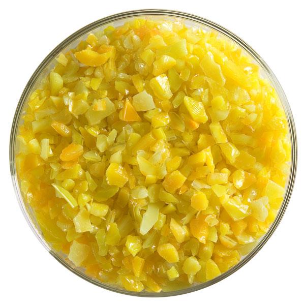Bullseye Frit - Marigold Yellow - Coarse - 2.25kg - Opalescent