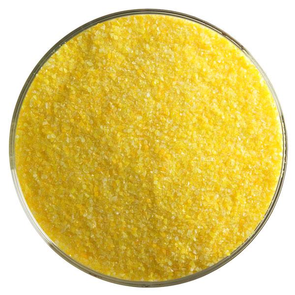 Bullseye Frit - Marigold Yellow - Fine - 450g - Opalescent