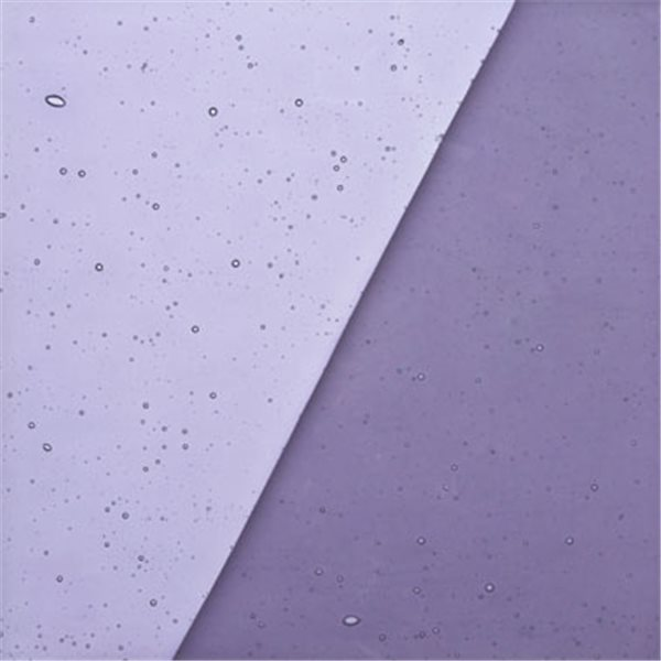 Uroboros Periwinkle Blue - Transparent - 3mm - Fusible Glass Sheets