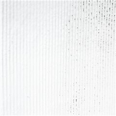 Bullseye Clear - Transparent - Reed Texture - 3mm - Fusible Glass Sheets