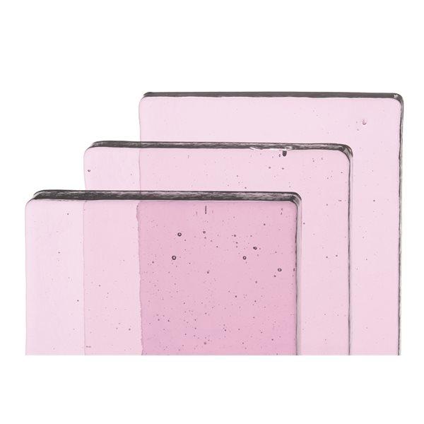 Bullseye Billets - Erbium Pink Tint - Transparent