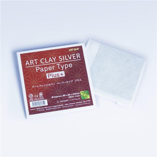 Art Clay Silver - Qualité Papier - 75x75mm