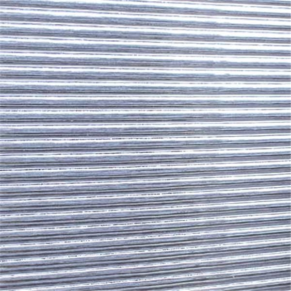 Spectrum Clear - Quarter-Reed - 3mm - Non-Fusible Glass Sheets