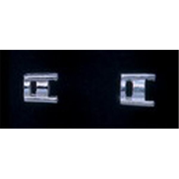 Round Bezel - Finesilver 980 - 4mm - 5pcs