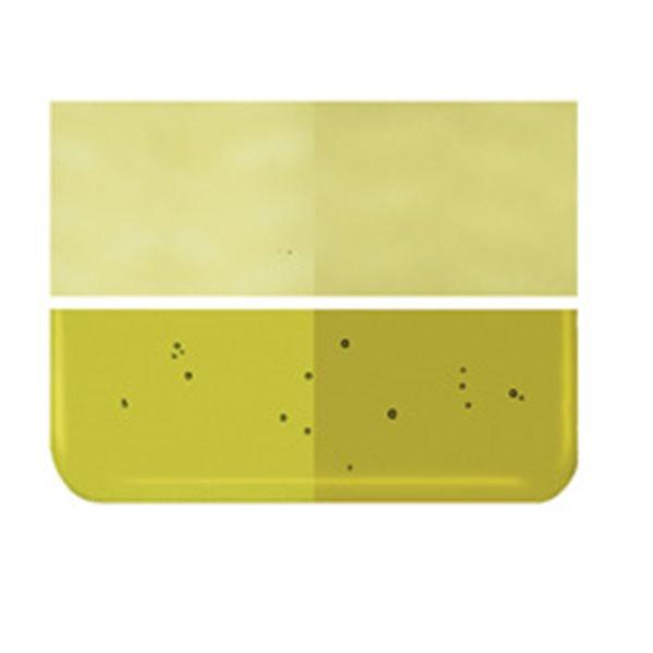 Bullseye Chartreuse - Transparent - 3mm - Fusing Glas Tafeln