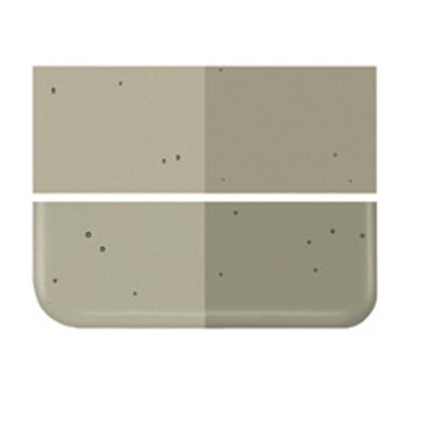 Bullseye Oregon Gray - Transparent - 3mm - Fusing Glas Tafeln