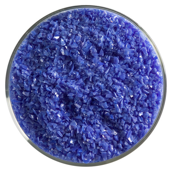 Bullseye Frit - Gold Purple - Medium - 450g - Opalescent