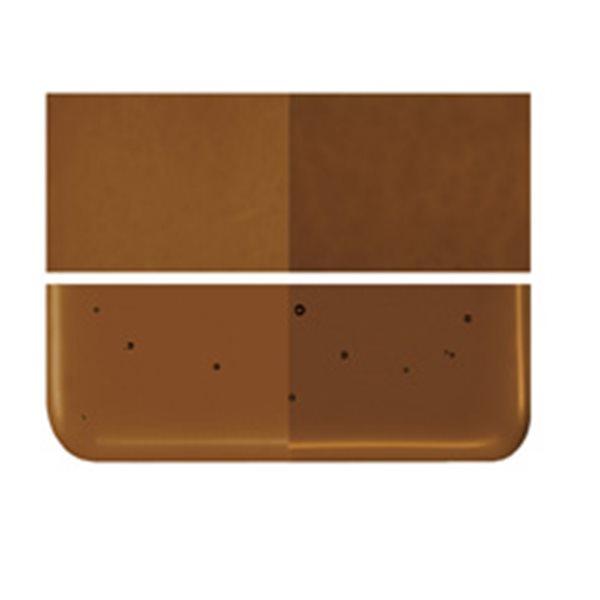 Bullseye Sienna - Transparent - 3mm - Fusing Glas Tafeln