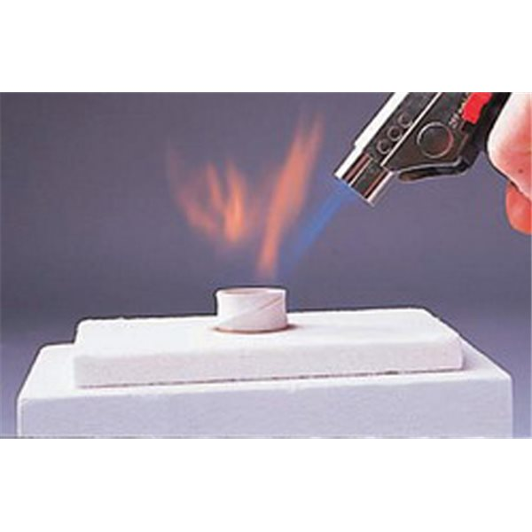 Flameproof Worksurface for Gas Torch