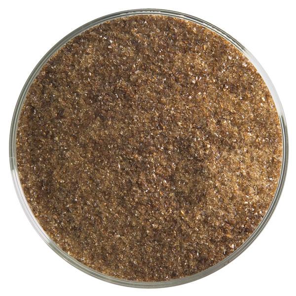 Bullseye Frit - Sienna - Fine - 450g - Transparent
