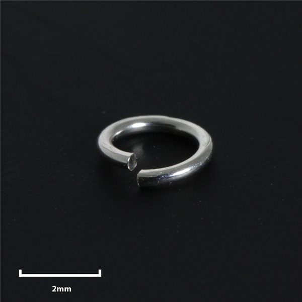Round Jump Ring - Silver 925 - 3mm - 50pcs