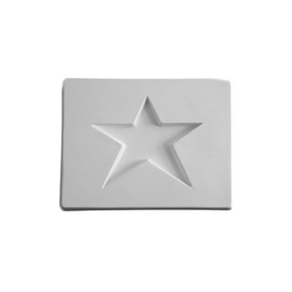 Star - 10.7x8.2x1.3cm - Opening: 6.3x6.8cm - Fusing Mould