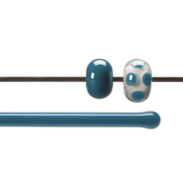 Bullseye Rods - Steel Blue - 4-6mm - Opalescent