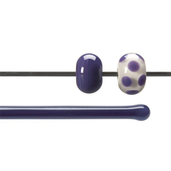 Bullseye Rods - Gold Purple - 4-6mm - Opalescent