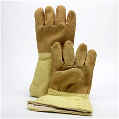 Hi-Temp 5-Finger-Gloves - PBI - 1000°C - 40cm