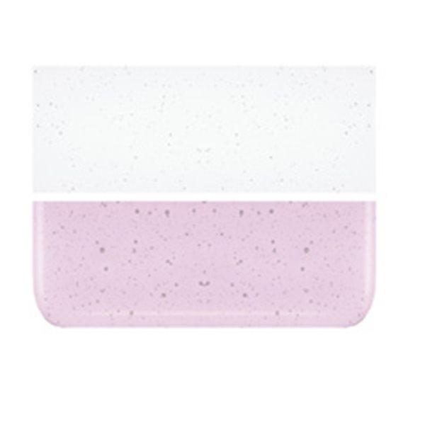Bullseye Ruby Pink Striker Tint - Transparent - 3mm - Fusing Glas Tafeln