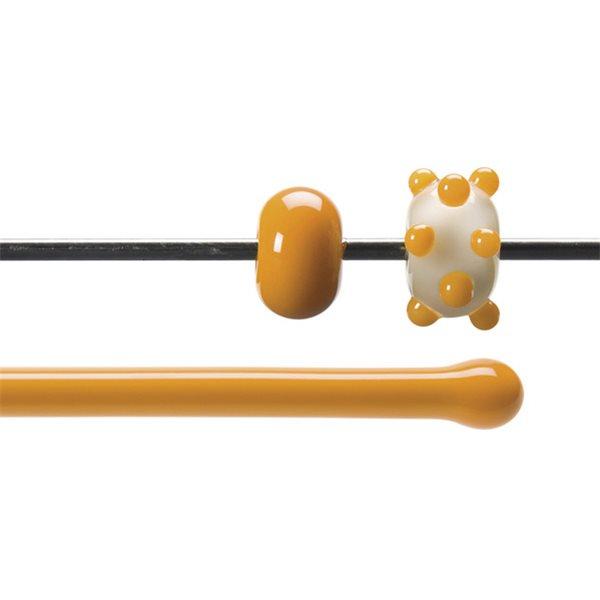 Bullseye Rods - Pumpkin Orange - 4-6mm - Opalescent